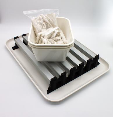 Assieme 18 Portavetrini, processamento campioni e asciugatura vetrini