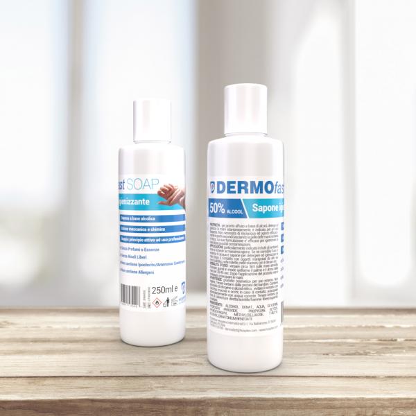DERMOfast Soap 250 - Sapone Igienizzante