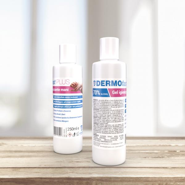 DERMOfast Plus 100 - Gel Igienizzante