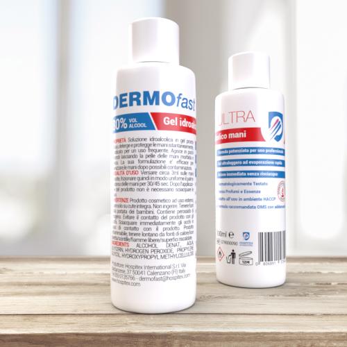 DERMOfast ULTRA 100 - Hydroalcoholic hands gel