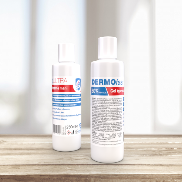 DERMOfast Ultra 250 - Gel Igienizzante