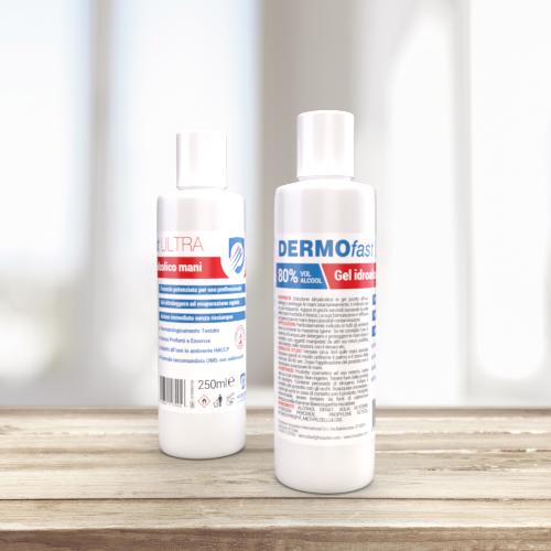 DERMOfast ULTRA 250 - Hydroalcoholic hands gel