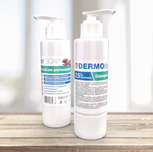 DERMOfast SOAP 500 - Detergente ad uso professionale