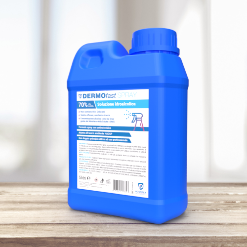 DERMOfast SPRAY 5XL - Hydroalcoholic solution
